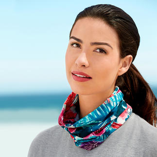 Insect Protection Buff® Original Buff® tube scarf with UV-protection and Insect Shield®. Protects you from the wind, cold, dust, sun and even bugs.
