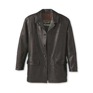 Elk Leather Jacket Timeless, beautiful jacket from unusual elk leather. Each one unique and as soft as butter.