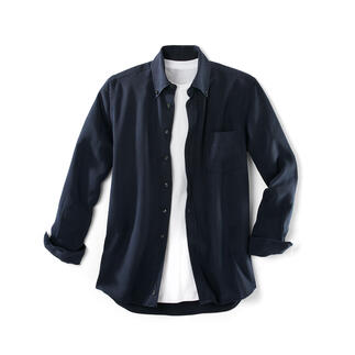 "Tencel® Denim Shirt You'll love this ""denim"" shirt both on hot and cold days. Much softer than denim."