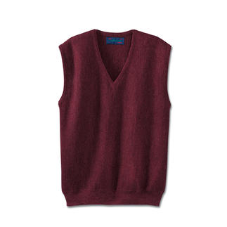 Alpaca Sleeveless Pullover A masterful piece of knitting from Clonakilty.