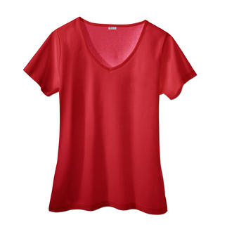 SunSelect® T-shirt, Women Looks good, feels good and has the same effect as a good sun cream.