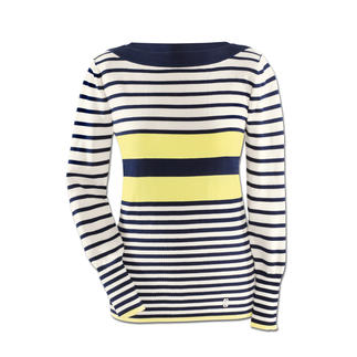 Sailor Striped Jumper New stripes.A fresh splash of colour.Slender fit. The nautical striped jumper is now more attractive than ever