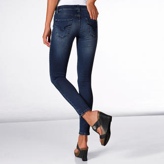 S.O.S. T400® 3⁄4-Skinny Jeans No creases – especially from sitting. Always attractive. Thanks to the highly elastic T400® fibres.