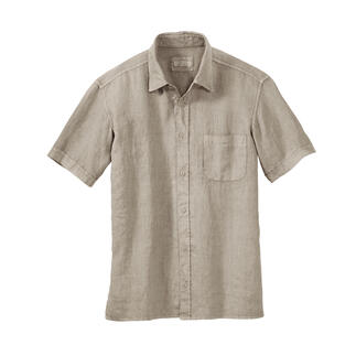 Elemente Clemente Vintage Linen Shirt The linen shirt in a trendy vintage style. With the long forgotten comfort of way back when.