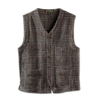Hollington Chenille Waistcoat Indestructible design.
