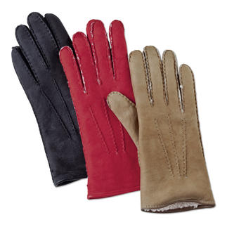 Merola Curly Lambskin Gloves for women and men The luxury gloves made from rare curly lambskin. Finest suede. Perfect fit.