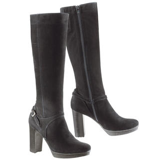Vesprini Crêpe Plateau Boots Elegant high boots – but surprisingly comfortable. And they're even fit for winter. With warm lining.