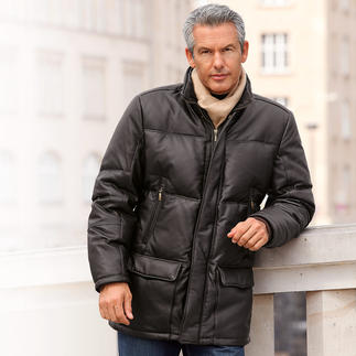 Reindeer Nappa Down Jacket The timelessly beautiful winter leather jacket – a purchase to last a lifetime.