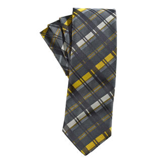 "alpi ""Golden Stripe"" Tie A fashionable update for any dark business suit."
