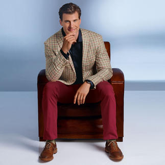 DAKS Check Summer 2013 Sports Jacket A check classic – a trend on the rise. In updated colours and a modern cut.
