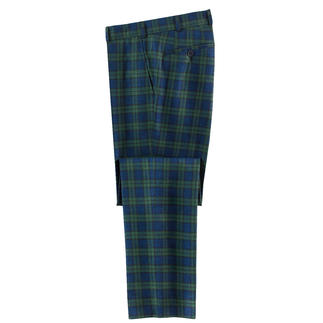 Hoal Black Watch Trousers Much airier than most Black Watch checks. And far more elegant.