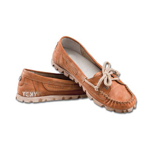 Yellow Cab Vintage Moccasin, Rust More casual than ballerinas. Fancier than trainers.