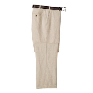 Business Linen Trousers Business linen creases less.