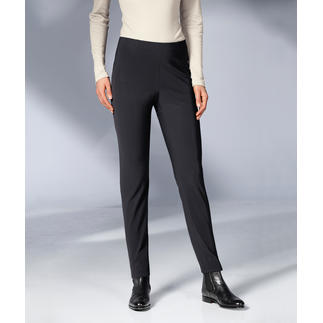 "Seductive Pull-On Trousers ""Sabrina"", Black A proven success for more than 6 years. And it's still a hot fashion trend. Elegant. Comfortable. Flattering."