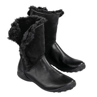 Arcus Lambskin Trimmed Boots Such comfortable, weatherproof, warm winter boots are hard to find. Soft, flexible and weighing just 11.5 oz.
