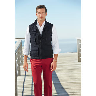 Aigle 10-Pocket Waistcoat 10 practical pockets. And protection from harmful UV rays.