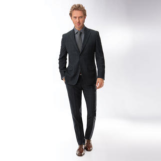 "Benbarton ""Undercover"" Glen Check Suit Long-awaited: Subtle glen check pattern that suits the business dress code."