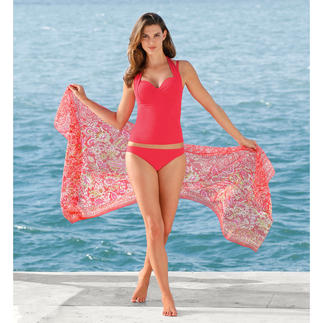 Anita Vario Tankini or Pareo One tankini – 4 styles. Bandeau. Halter neck. Straps or combination straps. Changed in seconds.