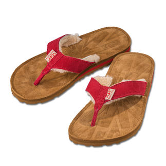 UGG® Lambskin Thong Flats As comfy as the legendary boots: The lightweight 3.6 oz thong sandal by UGG® Australia.