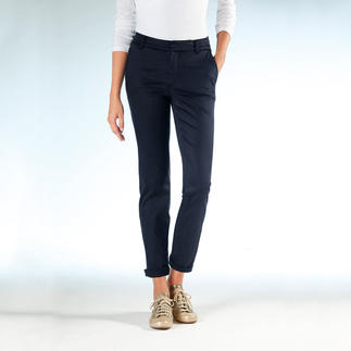 Cotton-Line Tencel® Chinos Perfect fit. Silky soft Tencel®/cotton blend.