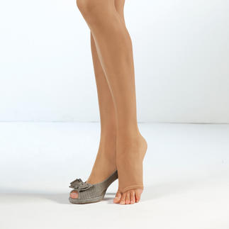 Fogal Open Toe Tights The open-toe tights with a toe loop: Perfect fit and won't ride up.