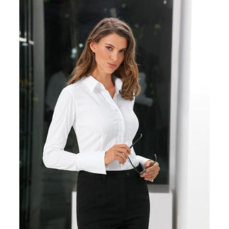 "van Laack Basic Blouse ""Cup Sizes"" Perfect fit in bust and waist. Thanks to 3 different ""cup"" sizes."