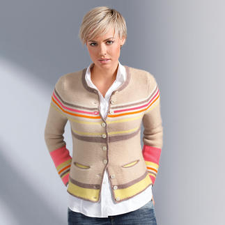 My Herzallerliebst Cashmere Janker Jacket Slimmer. Lighter. Softer. With new colour accents.