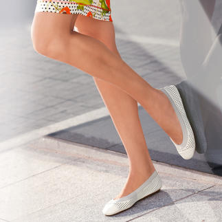 Yosi Samra Soft Ballerina Flats Light, soft, supple and easy to pack. Ballerina flats as comfy as your slippers.