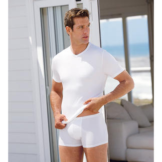 Zimmerli Micromodal® Shirt, Briefs or Pants White stays white. Black stays black. Made from MicroModal®, the finest in natural cellulose fibres.