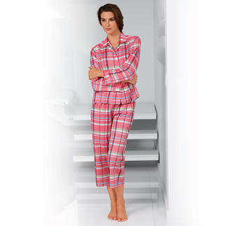 NOVILA Check Pyjamas Rose/white The pyjamas for a first good impression in the morning.