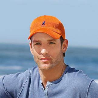Kangol® Nano Knitted Cap, Orange Knitted instead of woven: Lighter. Airier for summer. And incredibly elegant.