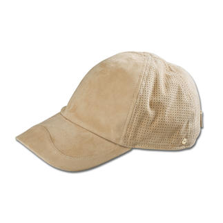 Mayser Kidskin Suede Cap Soft and pliable. Perforated for extra ventilation. And classier than most baseball caps.