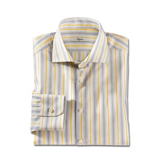 Ingram Summery Striped Shirt Six different stripes – great with every one of your summer outfits. For business and leisure.