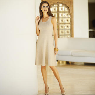 Panicale Double-Sided Lace Dress Seldom is lace this opaque, and lurex yarn so soft on your skin.