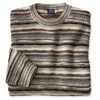 Botto 7-Colour Jumper 7 colours, 3 yarns. Endless combinations. By Botto – Italian jacquard knitwear since 1920.