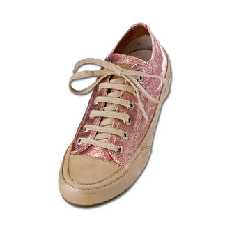 Candice Cooper Metallic Leather Plimsoles A holiday for your feet – in goatskin so soft it could be used for gloves.