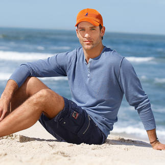 Soobaya Casual Pullover Fine linen and cotton knit: Casual can look this stylish. Easy-going, comfortable surfer style.