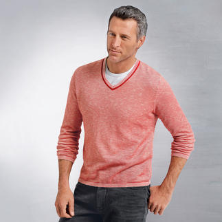 Phil Petter Piqué Pullover Piqué knitwear is rare – but perfect for warm weather.