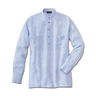 Hollington Panama Linen Shirt Twice as airy: Panama-weave linen. Perfect in 30 degree heat and above.