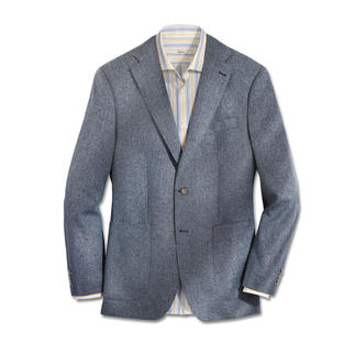 Kastell Climate Lightweight Jacket Virgin wool, silk and linen: The perfect blend for a summery-light jacket.