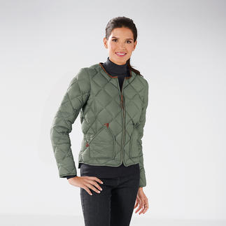 Aigle Quilted Down Elegant shape. Streamlined. Down jackets are rarely this feminine.