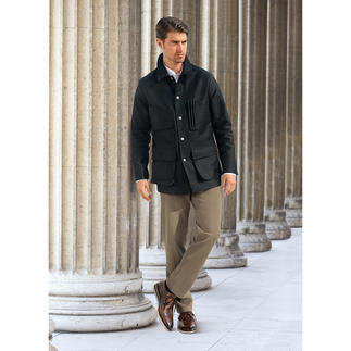 "Hollington ""Armentière""  Moleskin Jacket Indestructible fabric, timeless design."