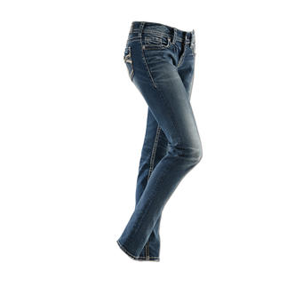 """Silver Jeans """"Suki"""" Original Silver Jeans from Canada: Perfect fit. Distinctive style."""