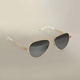 Strenesse Aviator Sunglasses Aviator glasses which are feminine and elegant.