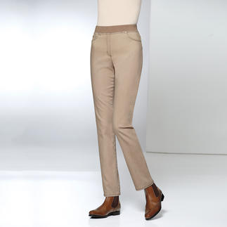 Raphaela by Brax Comfort Jeggings Finally: Comfortable jeggings that can also be worn with a cropped top. With the look of tailored trousers.