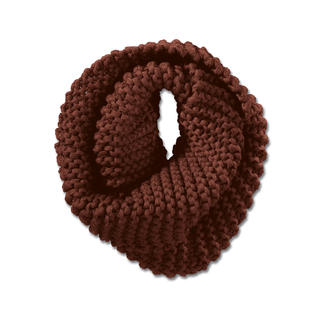 Strickmadame by Zebratod Hand-Knitted Loop Scarf Limited edition from Germany: A chunky knit made by hand.