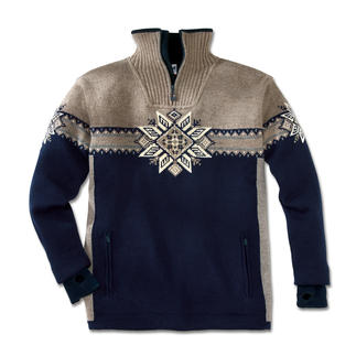"Norwegian Pullover ""Lyngen"" or ""Istind"" Developed for the South Pole expedition. Water repellent. Windproof. Breathable."