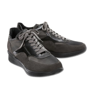 "Samsonite Footwear Trainers ""Satin Anthracite"" The elegant trainer. The ideal travel companion. Extra light. Super comfortable. Infinitely versatile."