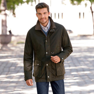 """Cotton Wax Parka """"Waterproof"""" The typical rustic character of a waxed jacket. All the advantages of modern functional clothing."""