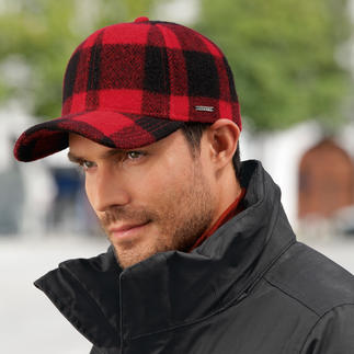 Stetson Woolrich Cap Not just any fashionable check pattern – but the famous Woolrich 
